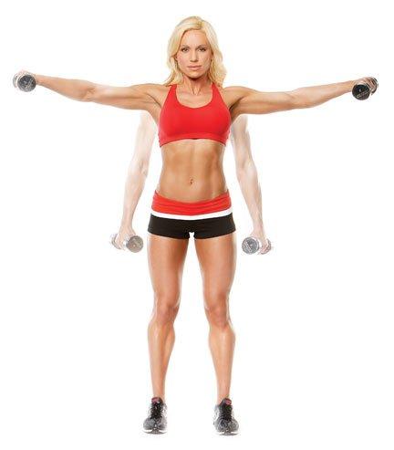 ejercicios de hombro y pecho para mujeres