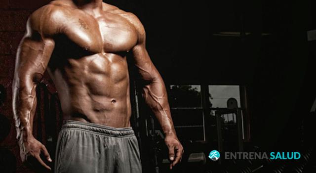 rutina gym 4 dias masa muscular